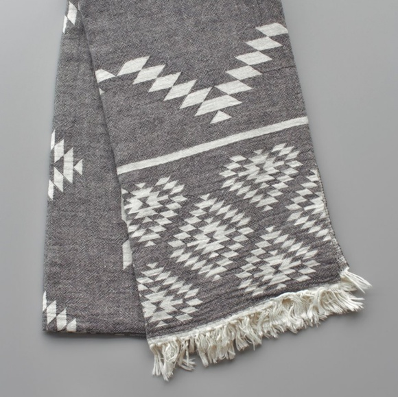 Riviere Accessories - Ezra Blanket Scarf Aztec Print